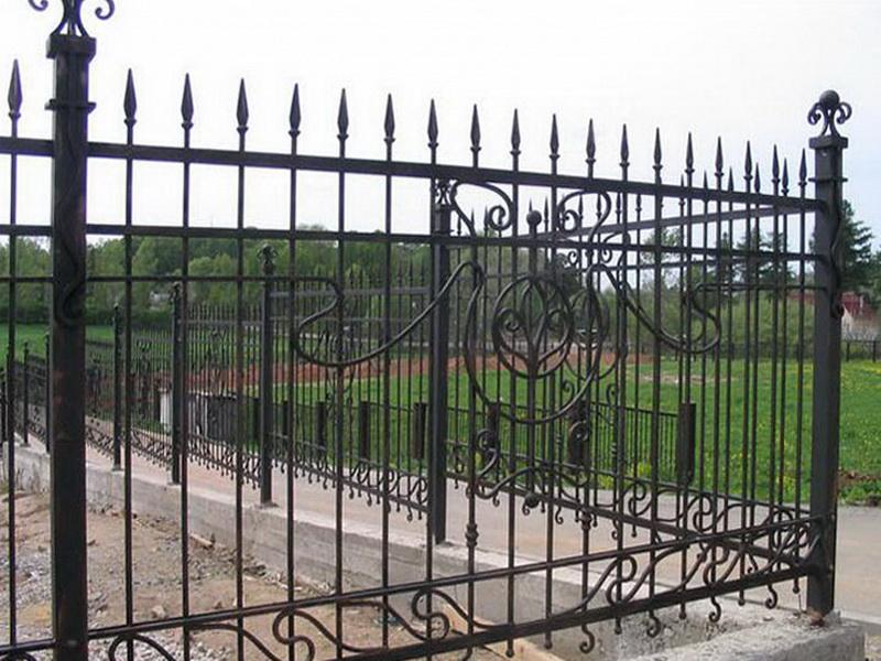 Кованая ограда и заборы N 5068