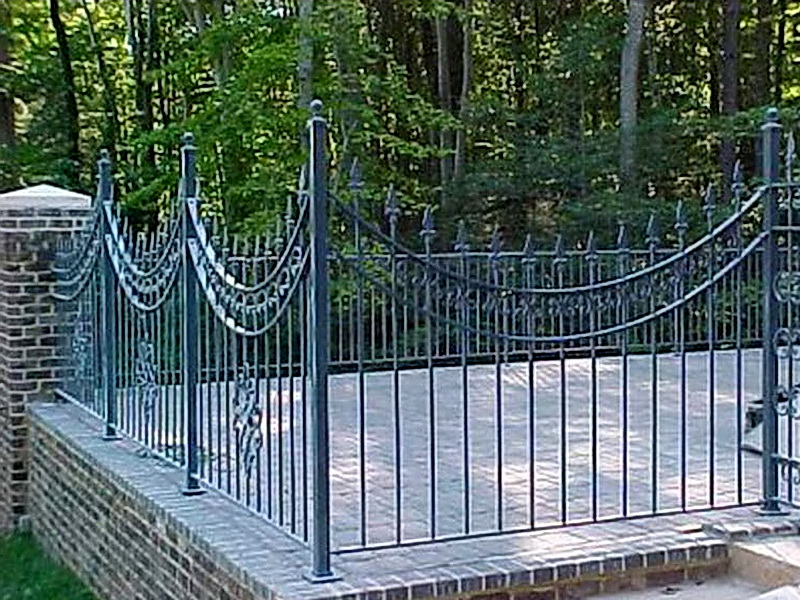 Кованая ограда и заборы N 5069