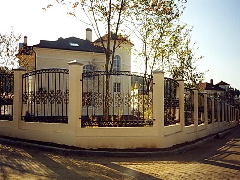Кованая ограда и заборы N 5070
