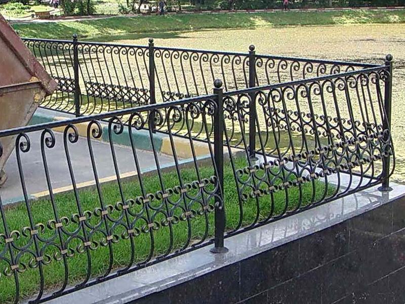 Кованая ограда и заборы N 5072