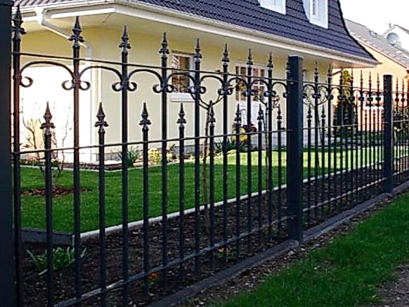 Кованая ограда и заборы N 5073