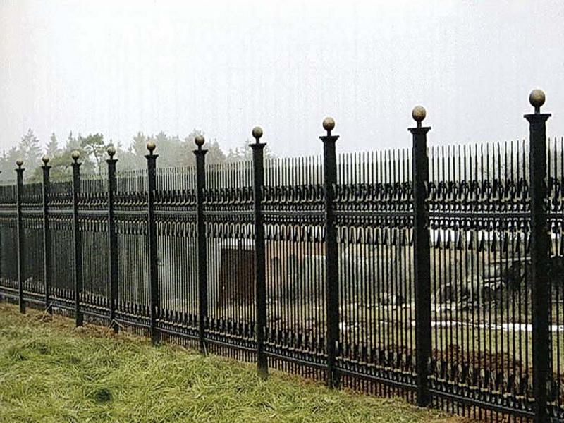 Кованая ограда и заборы N 5074