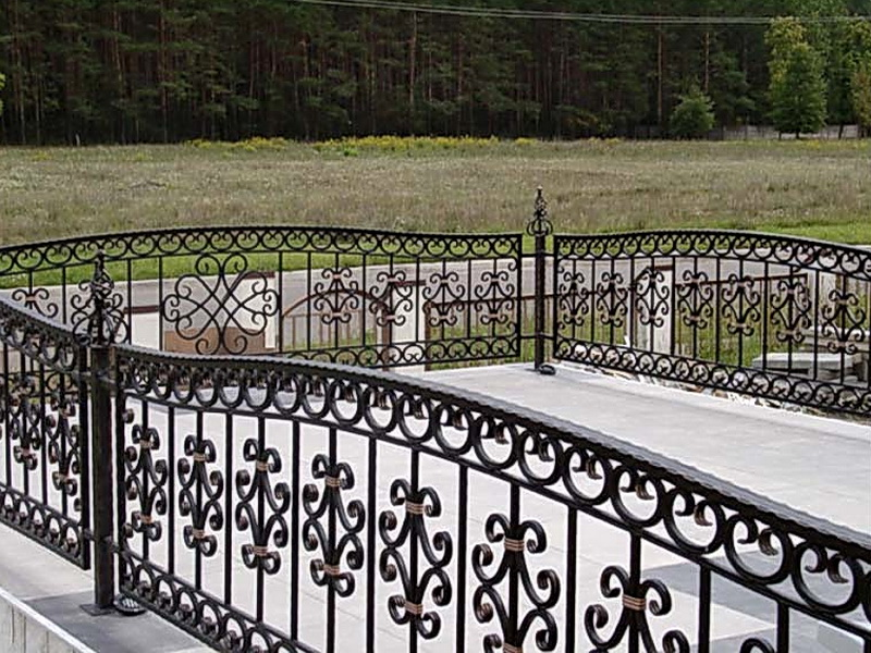 Кованая ограда и заборы N 5075