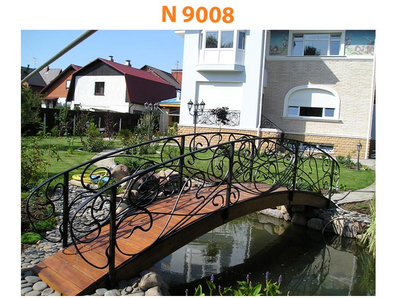 Кованый мост N 9008