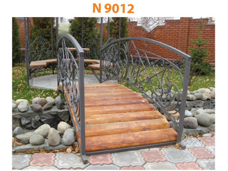 Кованый мост N 9012