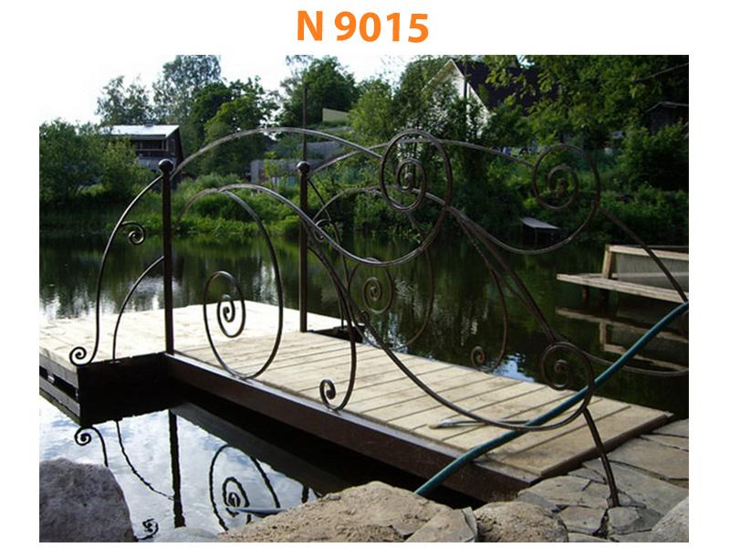 Кованый мост N 9015
