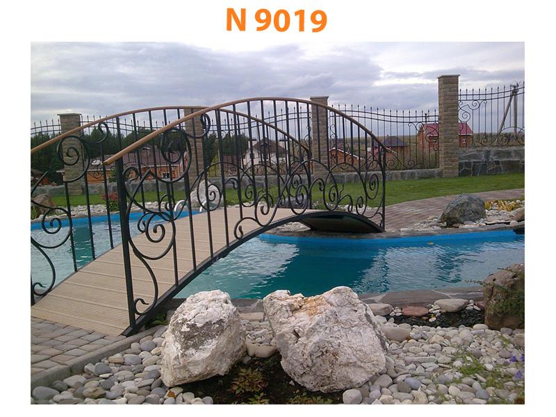 Кованый мост N 9019