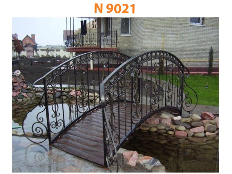 Кованый мост N 9021