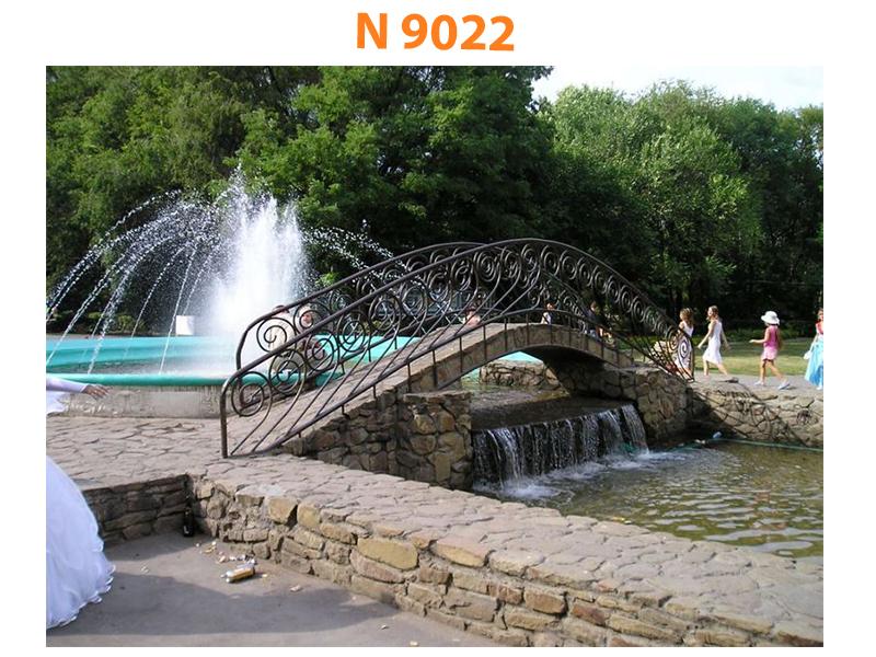 Кованый мост N 9022