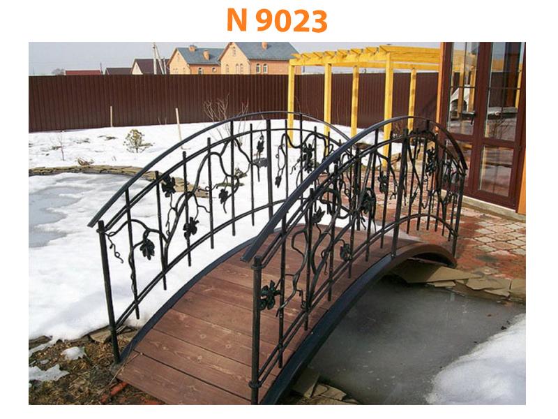 Кованый мост N 9023