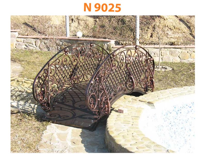 Кованый мост N 9025