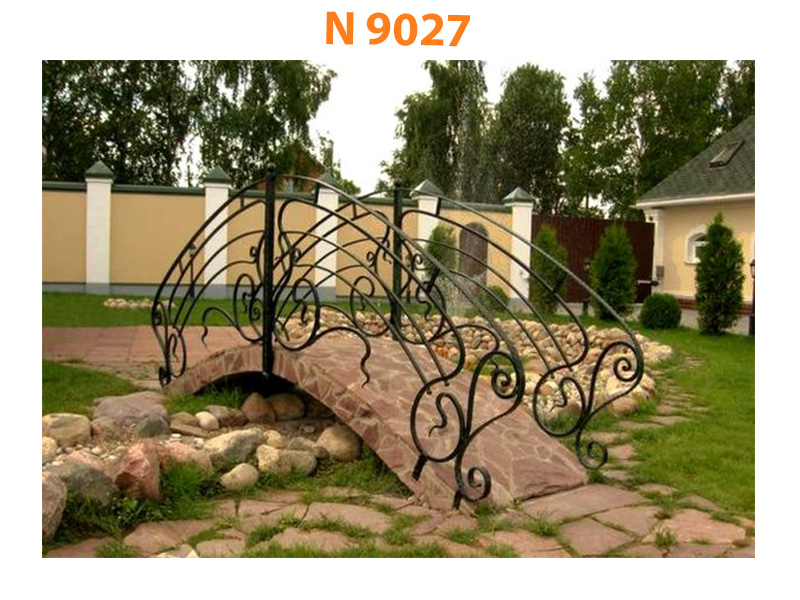 Кованый мост N 9027
