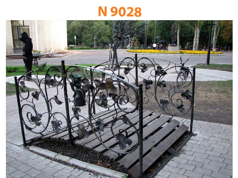 Кованый мост N 9028