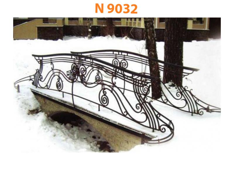 Кованый мост N 9032