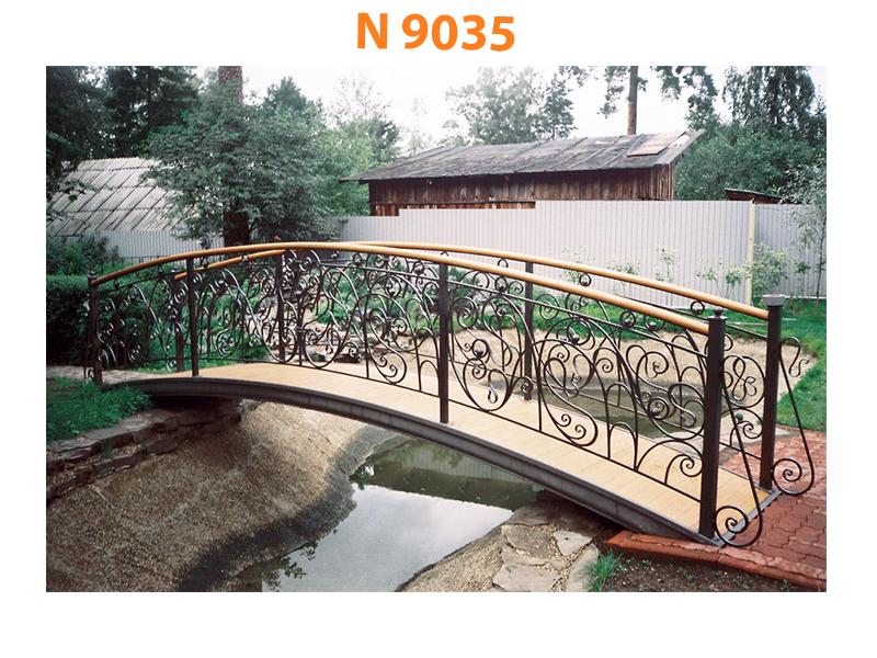 Кованый мост N 9035
