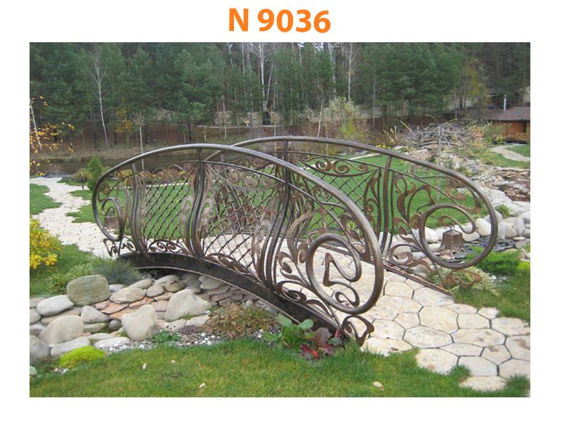 Кованый мост N 9036