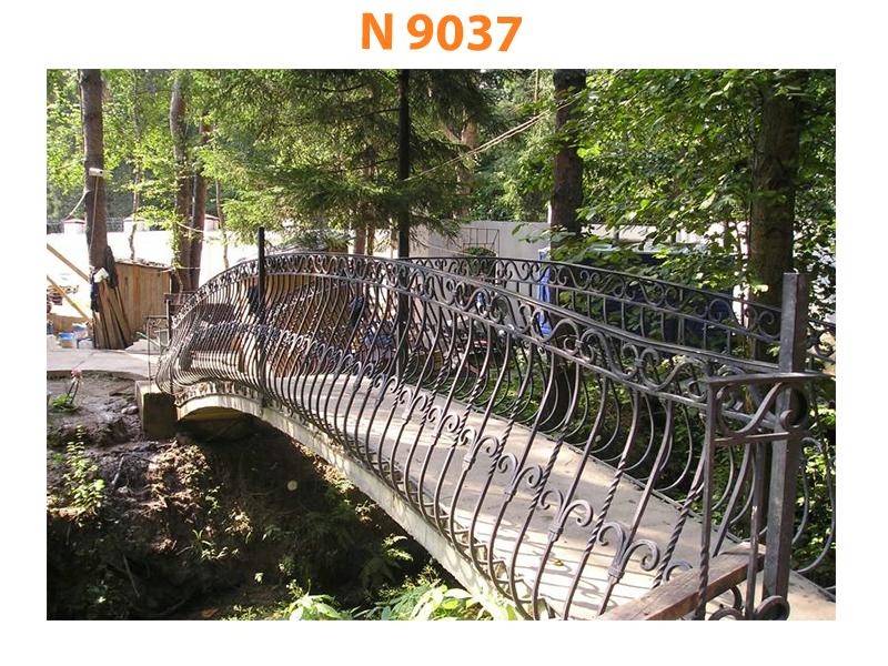 Кованый мост N 9037