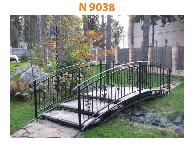 Кованый мост N 9038