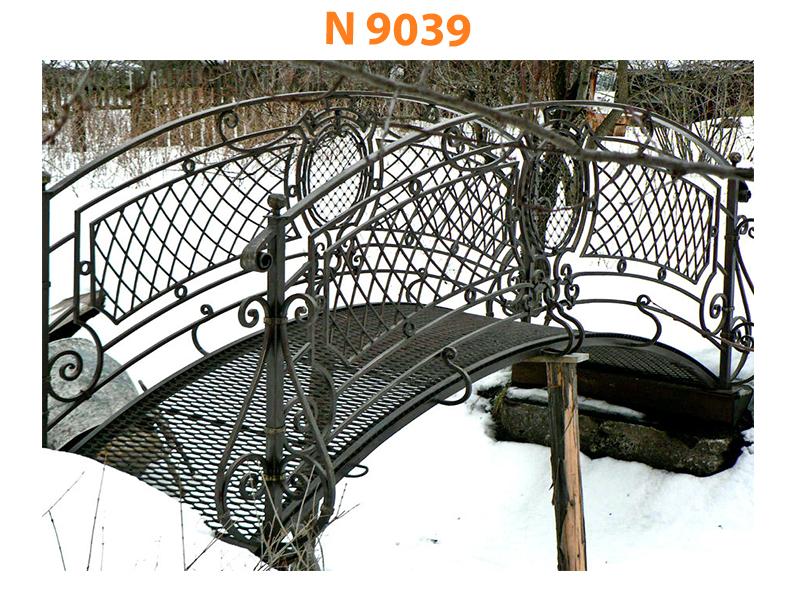 Кованый мост N 9039