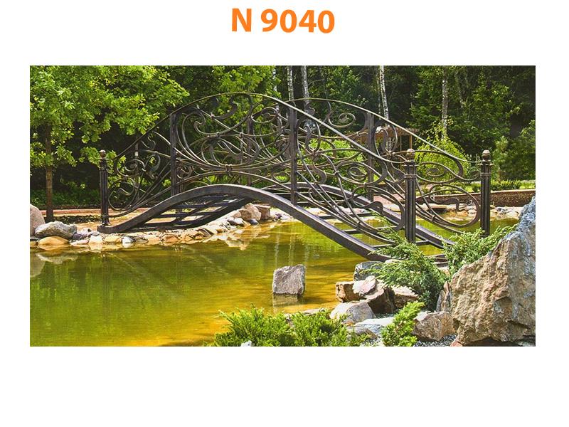 Кованый мост N 9040