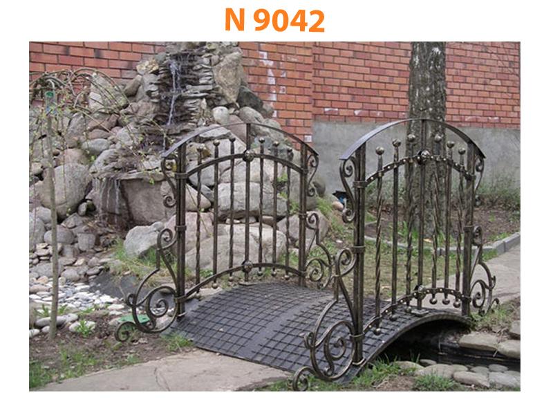 Кованый мост N 9042