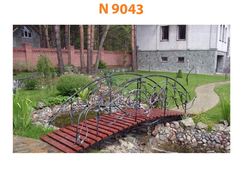 Кованый мост N 9043