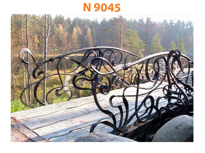 Кованый мост N 9045