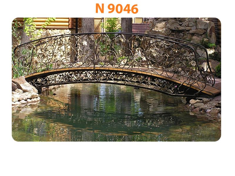 Кованый мост N 9046
