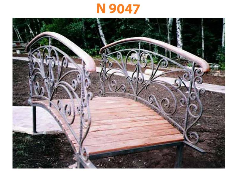 Кованый мост N 9047