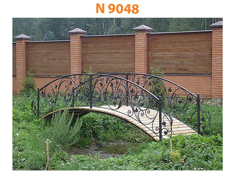 Кованый мост N 9048
