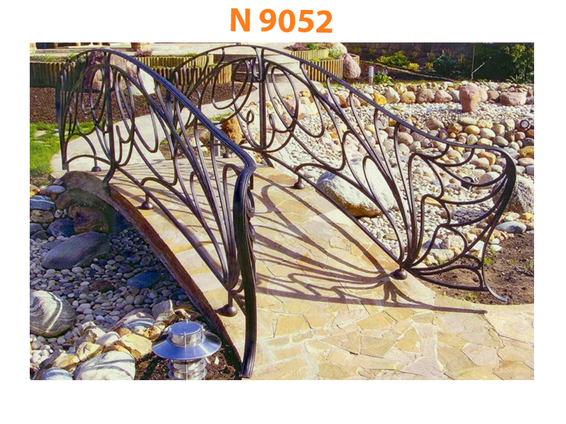 Кованый мост N 9052