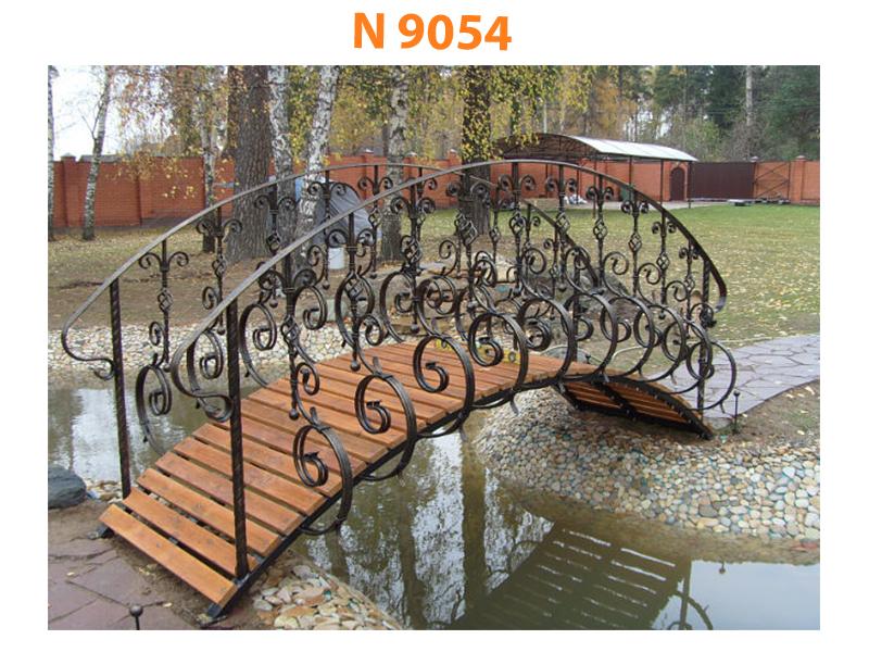 Кованый мост N 9054