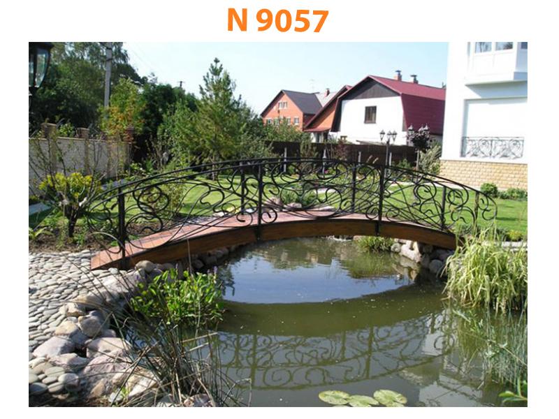 Кованый мост N 9057