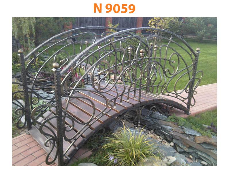 Кованый мост N 9059