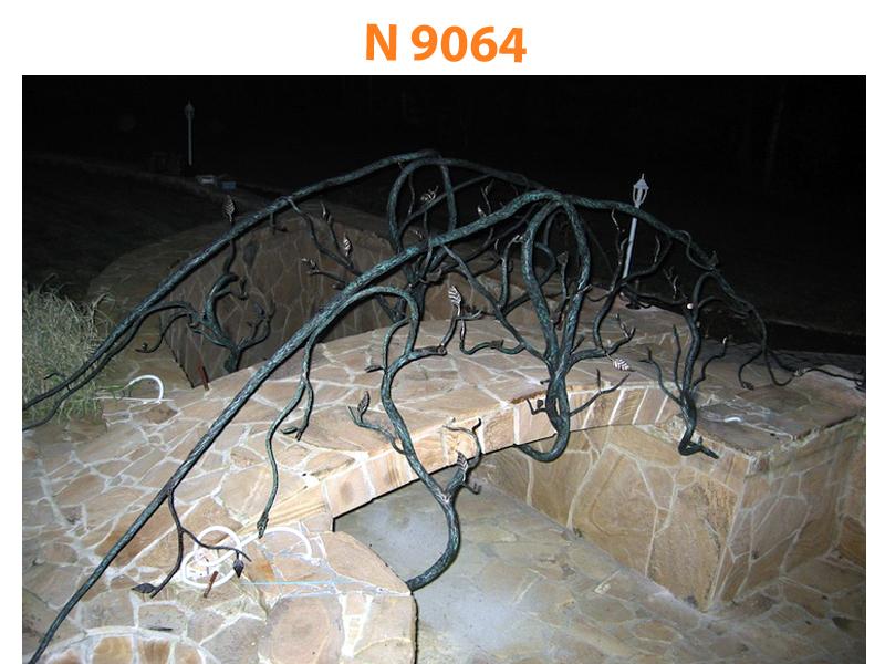 Кованый мост N 9064