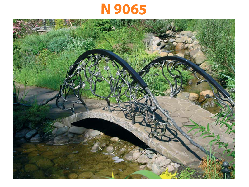 Кованый мост N 9065