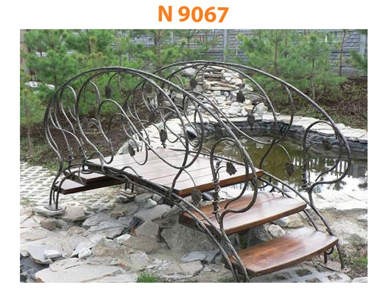 Кованый мост N 9067