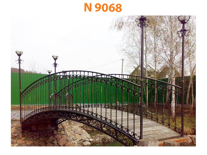 Кованый мост N 9068