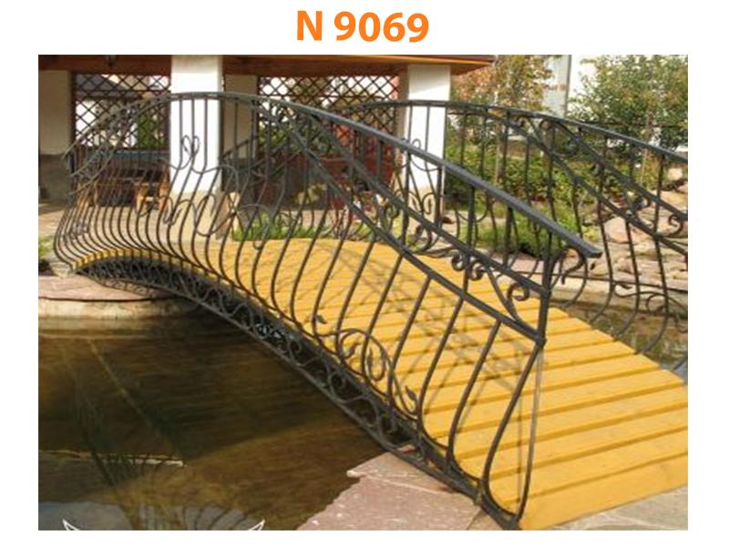 Кованый мост N 9069