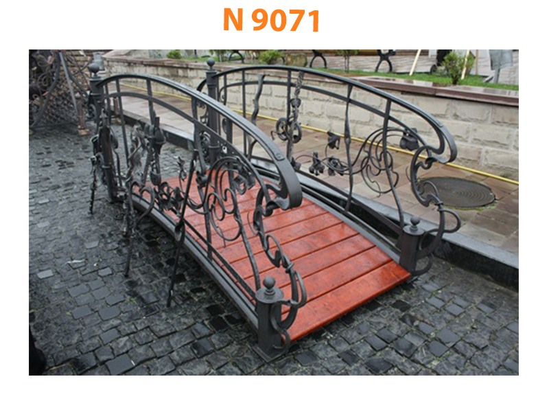 Кованый мост N 9071