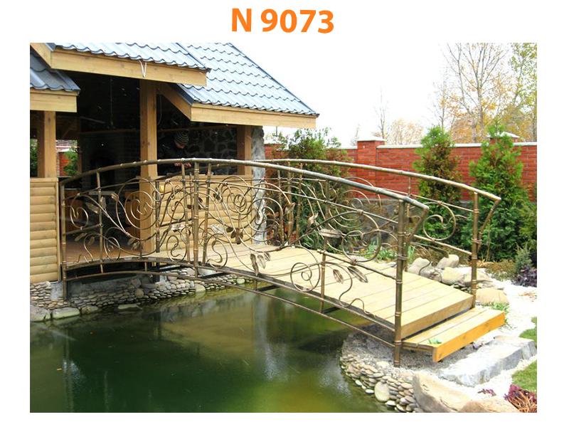 Кованый мост N 9073