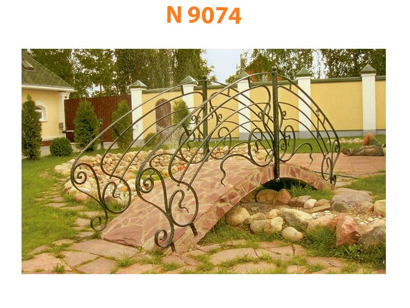 Кованый мост N 9074