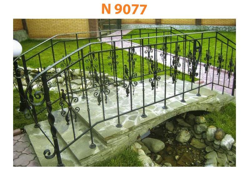 Кованый мост N 9077
