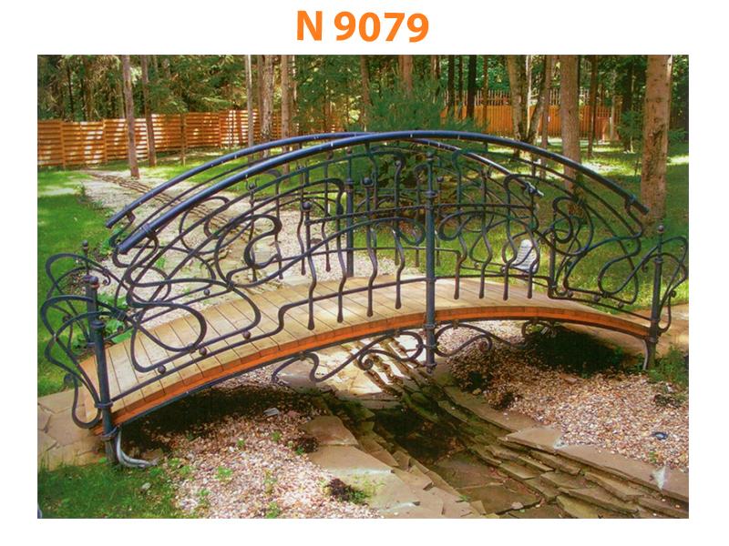 Кованый мост N 9079