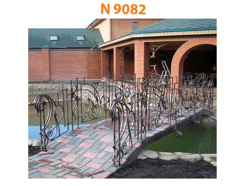 Кованый мост N 9082