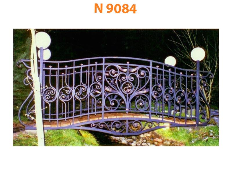 Кованый мост N 9084