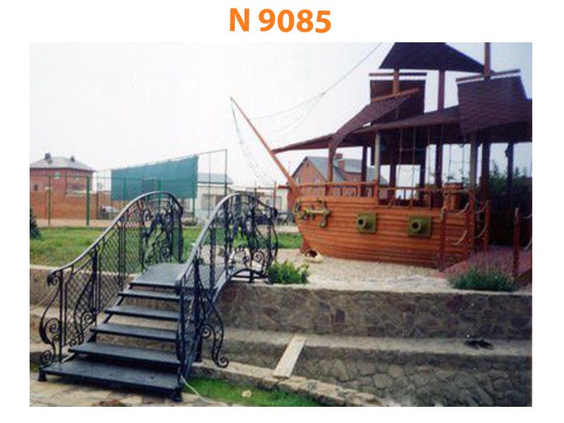 Кованый мост N 9085