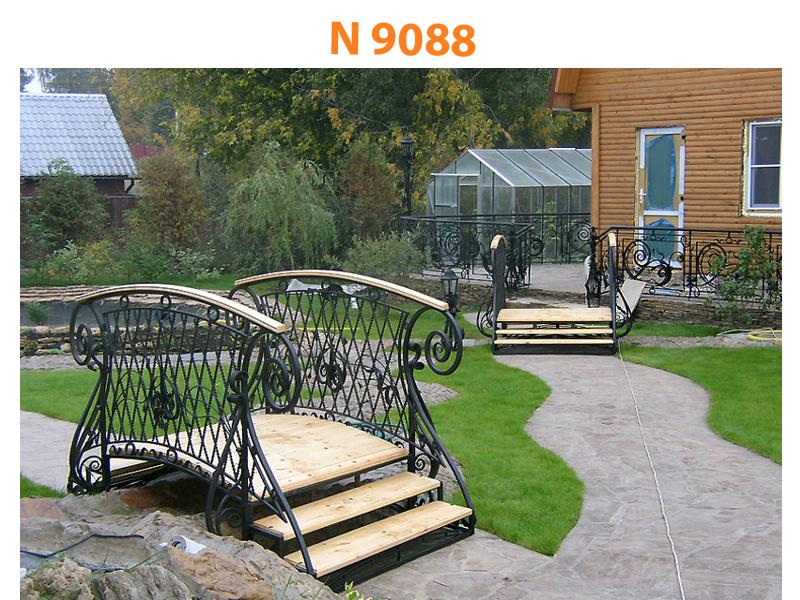 Кованый мост N 9088