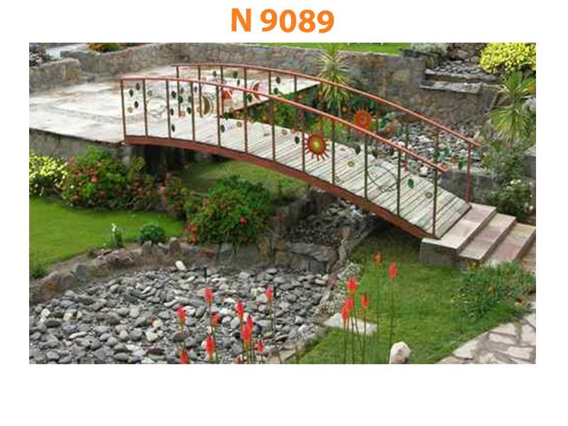 Кованый мост N 9089
