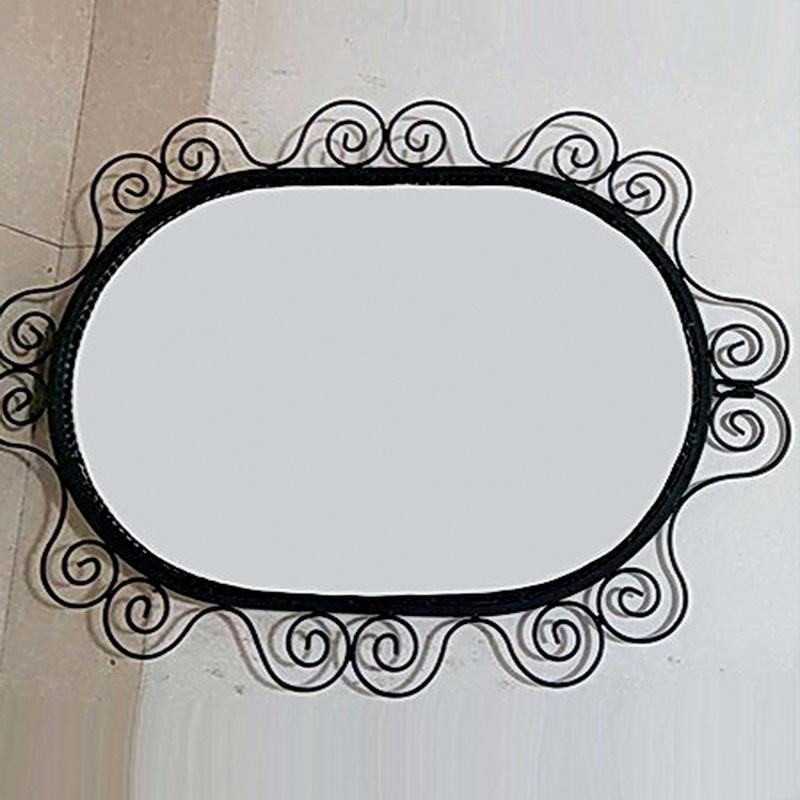Кованое зеркало N 19009
